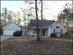 155 Ellman Drive, Eatonton Georgia 31024 (Lake Oconee)  Conveniently located located close to Lake Oconee. This property is on a large partially wooded lot.   The family room boasts vaulted ceilings, hardwood flooring, and an open concept kitchen - family room design. This family room is bright and cheery and has a fireplace as a focal point.  The dining room is off of the kitchen and has access to the large chain-linked back-yard.  The master suite has a spacious walk-in closet, double ...