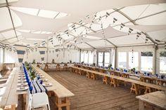 #Nautical #wedding reception. Find more inspiration at diyweddingsmag.com