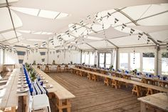 #Nautical #wedding reception. Find more inspiration at diyweddingsmag.com