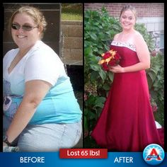 Heather James lost 65 pounds in a year and a half and looks GREAT! Click to learn her story.
