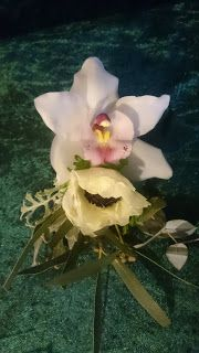 Sandra's Flower Studio: Gorgeous bridal bouquets with orchid, peony and anemone