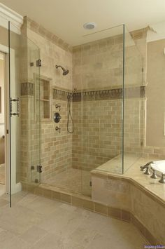 Keep the tub add a glass shower?