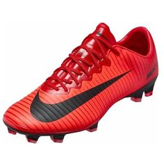 560f2f178 Nike Mercurial Vapor XI FG Mens Soccer Cleats (University Red Fire)