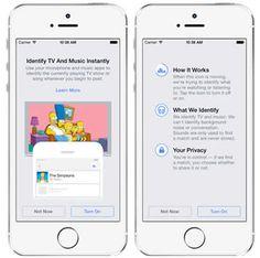 Facebook ahora permite reconocer música y programas de TV