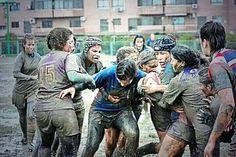 Mud, Rain & Rugby in Spain.