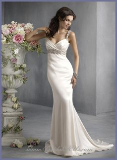 Dress Erflies Picture More Detailed About 2017 Ivory Silk Charmeuse Spaghetti Straps Neckline Sleeveless Floor Length In