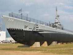 Housed at Battleship Memorial Park, this World War II era Gato-class submarine is also a National Historic Landmark.