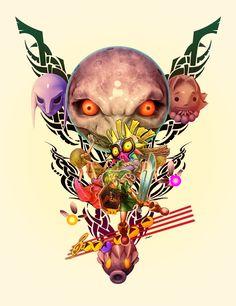 Legend of Zelda: Majora's Mask by Larry Warren Jr.