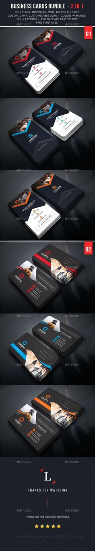 Creative Vertical Business Card Template Vertical Business Cards - 2 x 35 business card template