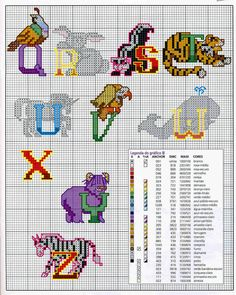 Cute Animal alphabet 2 end