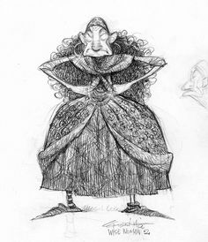 Illustration and Inspiration: Carter Goodrich - Brave Character Design Female Character Design, Character Design References, 3d Character, Character Drawing, Character Illustration, Character Concept, Illustration Art, Brave Characters, Disney Concept Art