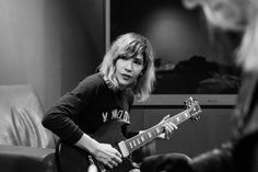 Carrie Brownstein. Eloquent, intelligent, funny, musical, stylish...she's my fave.