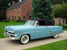 1953 Ford Crestline Sunliner Convertible OVERDRIVE