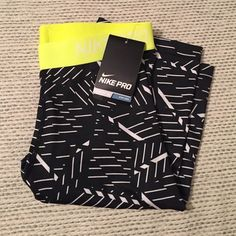 "Nike Pro shorts New Nike Pro shorts with approx 11"" inseam. These are great for layering under anything or just working out in by themselves. They don't ride up as easy as the shorter version! I have a few colors in my closet. Nike Shorts"