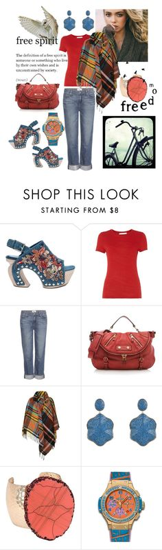 """""""Free Spirit"""" by felicia-mcdonnell on Polyvore featuring Alexander McQueen, HUGO, Paige Denim, Vivienne Westwood, Latelita, HUBLOT, women's clothing, women, female and woman"""