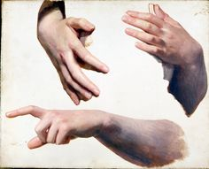 Bouguereau hand studies
