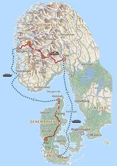 13-daagse familierondreis Noorwegen en Denemarken · Pharos Reizen