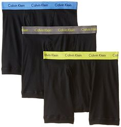 PRODUCT DETAILS : Boxer briefCalvin Klein signature logo waistbandFunctional fly3 per packClassic fit SPECIAL PRICE : $31.36