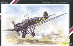 Special Hobby 1:72 Junkers W34 Hau, Bramo Motor