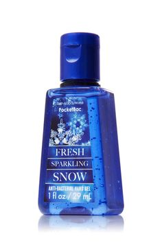 Fresh Sparkling Snow PocketBac Sanitizing Hand Gel - Anti-Bacterial - Bath & Body Works