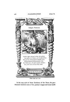 Emblem of the Swan  https://ia902703.us.archive.org/BookReader/BookReaderImages.php?zip=/9/items/shakespeareande01greegoog/shakespeareande01greegoog_tif.zip&file=shakespeareande01greegoog_tif/shakespeareande01greegoog_0267.tif&scale=1&rotate=0
