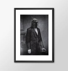 Star Wars Art - Civil War Fett Alternative Star Wars -  Print - BUY 2 Get 1 FREE by ShamanAlternative on Etsy