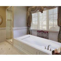 "Hydro Systems Designer Premier 74"" x 42"" Soaking Bathtub Finish: White"