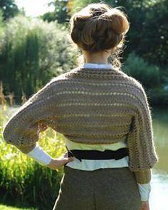 Ravelry: Sherri Shrug pattern by Kari-Helene Rane