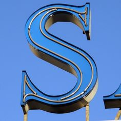 """The blue"""" S""""- is my favorite color and stands for Sandra! :-)"""