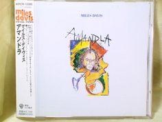 CD/Japan- MILES DAVIS Amandla w/OBI RARE 1999 re-issue WPCR-10385 Marcus Miller  #ElectricJazz