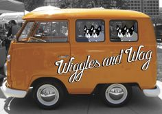 """SMALL BUSINESS LOGO """"WIGGLES AND WAG"""" Brief: Create a friendly, contemporary and down to to earth logo for a doggy daycare centre based in Paddington, Sydney."""