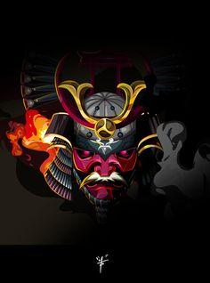 ARTIST: Don Motta   via: #Yellowmenace - Samurai Inspired (武士触発)    See all 40 Samurai Artworks  + http://yellowmenace8.blogspot.com/2015/05/art-samurai-inspired.html
