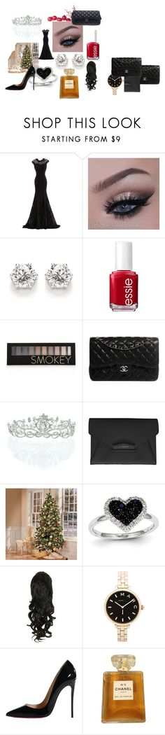 """""""Untitled #2"""" by vesna-savic on Polyvore featuring Essie, Forever 21, Chanel, Kate Marie, Givenchy, Kevin Jewelers, Marc by Marc Jacobs and Christian Louboutin"""