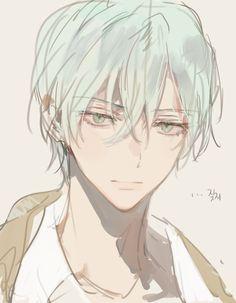 Cool Anime Guys, Handsome Anime Guys, Cute Anime Boy, Boy Anime Eyes, Pretty Art, Cute Art, Manga Art, Manga Anime, Manga Posen