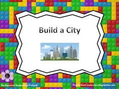 Build a City - Number Activity