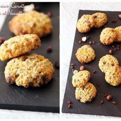 Cookies aux carottes, Grenade & Noisettes