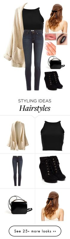 """""""Untitled #703"""" by volleyballgirl12345 on Polyvore featuring Paige Denim, Givenchy and Elegant Touch"""