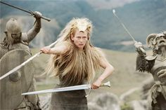 Jadis - Jadis Queen Of Narnia Photo Chain maille dress.