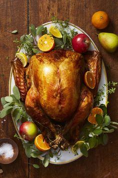 Golden Herb-Roasted Turkeygoodhousemag