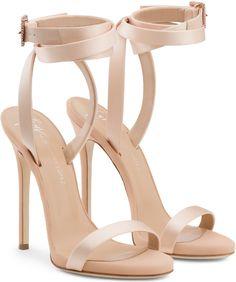 14052638893 Giuseppe Zanotti Giuseppe for Jennifer Lopez  Leslie  Sandals Ankle Strap  Heels