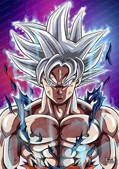 Goku Ultra Instinct Maîtrisé by Migne Huynh Dragon Ball Image, Dragon Ball Gt, Wallpaper Do Goku, Broly Ssj4, Foto Do Goku, Evil Goku, Goku Drawing, Super Anime, Animes Wallpapers