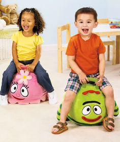 Yo Gabba Gabba!™ Plush Hoppers  NOW Only $14.95 each