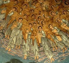 a-little-bit-pre-raphaelite — Angels and archangels  May have gathered there  ...