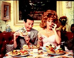Breakfast with Pee Wee and Miss Yvonne