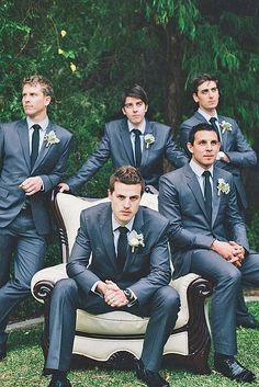67 Ideas For Wedding Photography Poses Bridal Party Groomsmen Boys Groomsmen Wedding Photos, Groomsmen Poses, Groom Poses, Bridesmaids And Groomsmen, Wedding Suits, Trendy Wedding, Wedding Parties, Funny Groomsmen Photos, Wedding Dresses