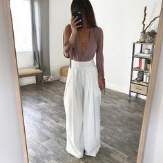 The Chloe Trousers - White