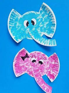 Kids Crafts, Summer Crafts For Toddlers, Toddler Arts And Crafts, Daycare Crafts, Crafts For Kids To Make, Easy Crafts, Kids Daycare, Kids Fun, Art Tutorial