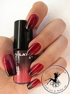 THERMO-NAGELLACK LAYLA THERMO POLISH EFFECT - BORDEAUX TO RED Trendliner-Cosmetics GmbH, Germany http://www.amazon.de/dp/B00JR6KEX6/ref=cm_sw_r_pi_dp_idC4vb07CH6BZ