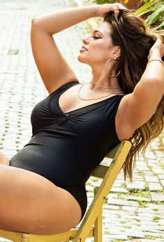 Ashley Graham x swimsuitsforall Presidenta Swimsuit