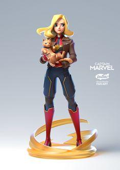 Captain Marvel, Marvel Heroes, Marvel Characters, Marvel Avengers, Ms Marvel, Marvel Comics, Female Character Design, Character Modeling, Character Design Inspiration